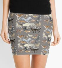 Wolves of the world 1 Mini Skirt