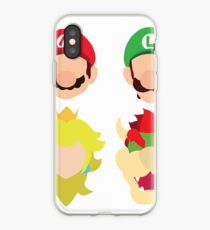Super Mario Characters iPhone Case