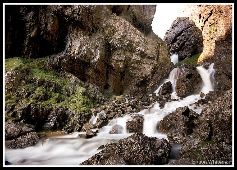 Gordale Scar waterfall by Shaun Whiteman