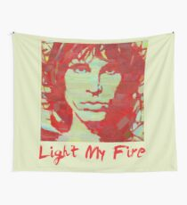 portrait of a musician Wall Tapestry