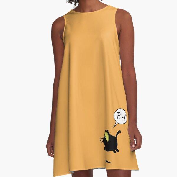 Prr! A-Line Dress