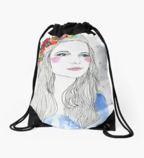 Stay Another Drawstring Bag