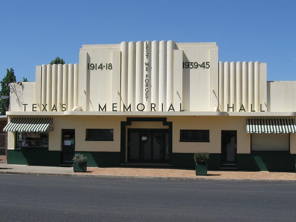 Texas Theatre by Judy Woodman
