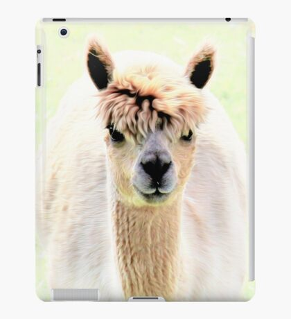 Sweet alpaca iPad Case/Skin