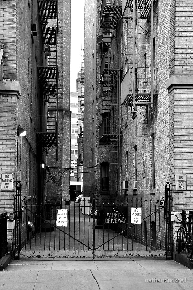 Alley Upper East Side, New York by nathancockrell