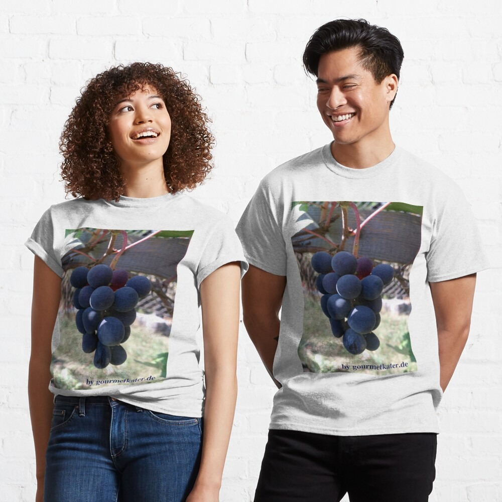 Weintraube Blauer Bernburger Classic T-Shirt