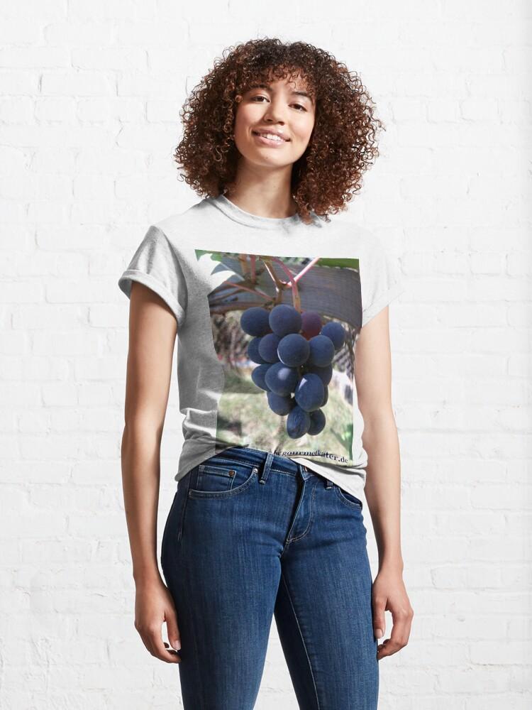 Alternative Ansicht von Weintraube Blauer Bernburger Classic T-Shirt