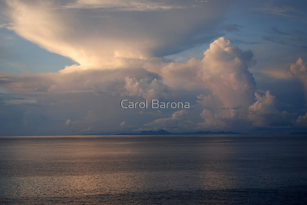 Cloud Explosion by Carol Barona