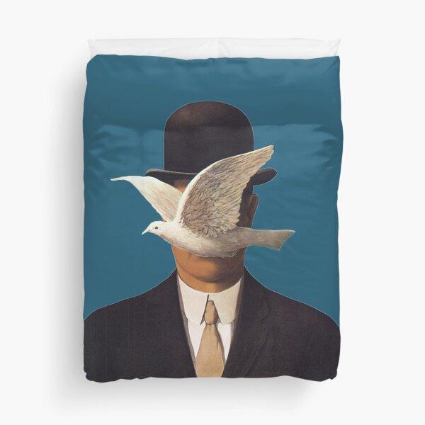 Rene Magritte Mania Duvet Cover