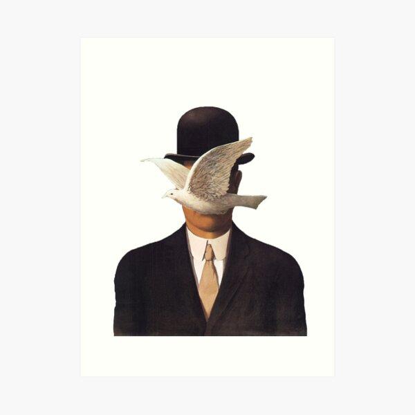 Rene Magritte Mania Lámina artística