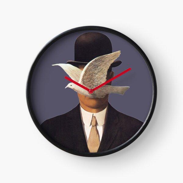 Rene Magritte Mania Clock