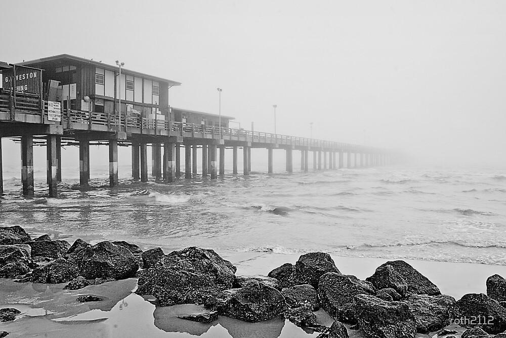 Galveston Fishing Pier by roth2112