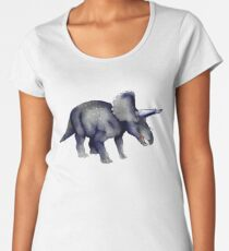 Triceratops Women's Premium T-Shirt