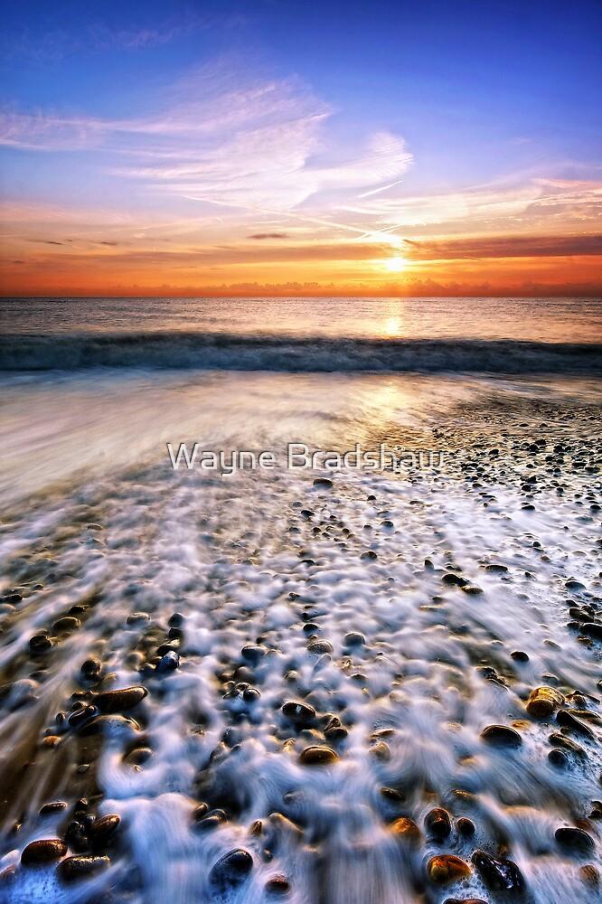 Thorpeness Beach Suffolk 2. by Wayne Bradshaw
