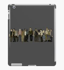 The Walking Dead Cast iPad Case/Skin