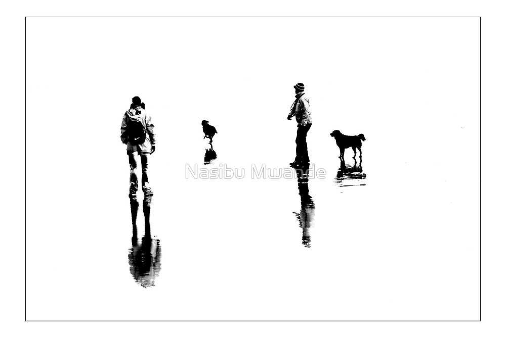 ON THE BEACH by Nasibu Mwande