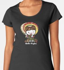 Hello Kaylee Winks Women's Premium T-Shirt