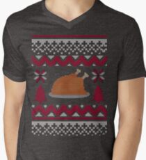 Knitted Chicken Red T-Shirt