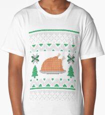 Knitted Chicken Green Long T-Shirt