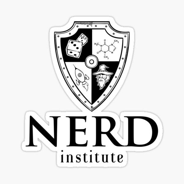 Nerd Institute Sticker