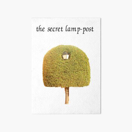 The Secret Lamp-post Art Board Print