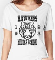 Stranger Things Hawkins Women's Relaxed Fit T-Shirt
