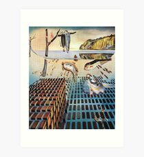 The Disintegration of the Persistence of Memory-Salvador Dalí Art Print