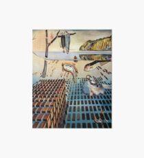 Die Desintegration des Beharrens des Gedächtnisses - Salvador Dalí Galeriedruck