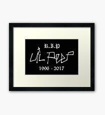 lil peep - Recognizing the need is primary condition for design. Framed Print