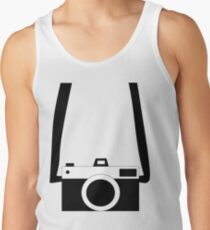 Black and White Camera  Tank Top