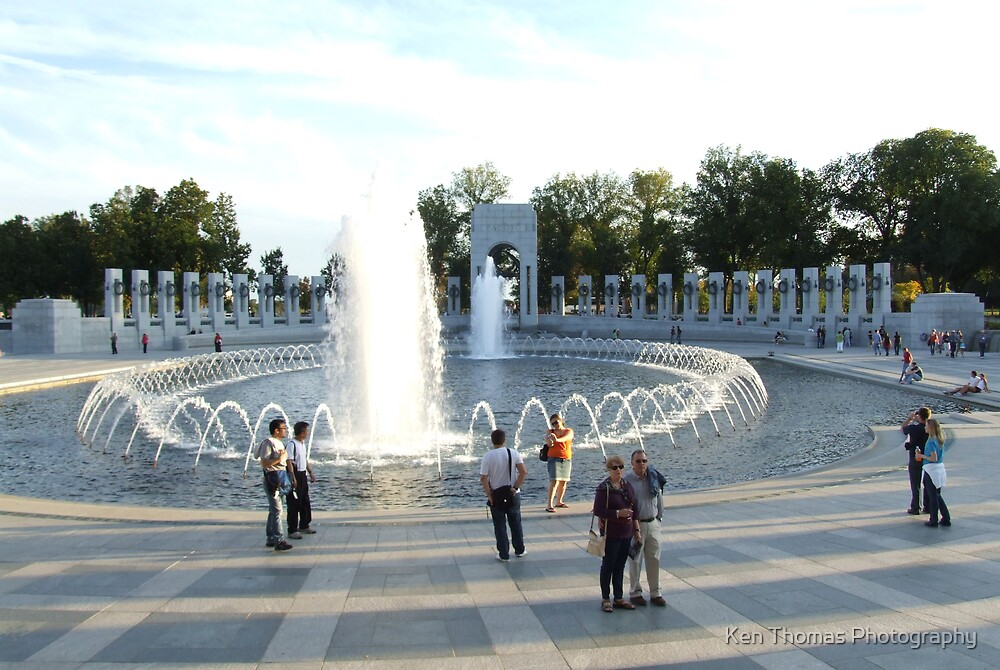 WWII Memorial by Ken Thomas Photography