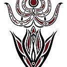 Pagan Art. Indische Göttin. von Christine Krahl