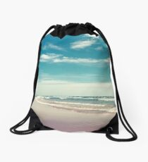 The swimmer Drawstring Bag