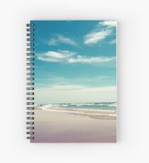 The swimmer Spiral Notebook