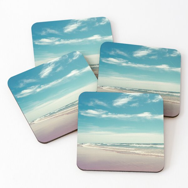 The swimmer Coasters (Set of 4)