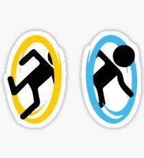 Portal 2 - Logo 2 Sticker