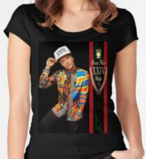 24K Magic Tour Women's Fitted Scoop T-Shirt