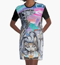 Dreams of the past Graphic T-Shirt Dress