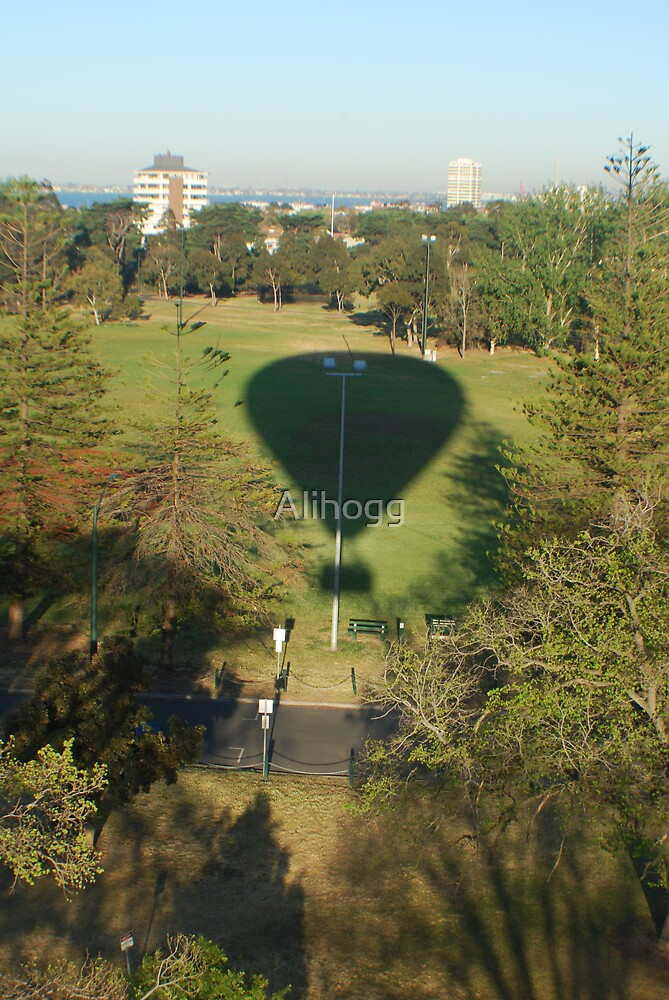 balloon shadow by Alihogg