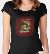 Buffy The Vampire Slayer - If The Apocalypse Comes Women's Fitted Scoop T-Shirt