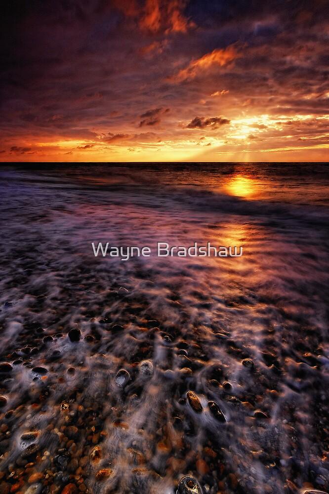 Thorpeness Beach Suffolk 11. by Wayne Bradshaw