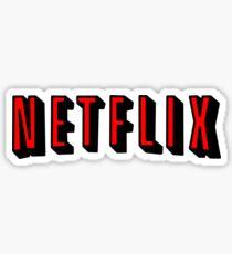 Pegatina Netflix RED