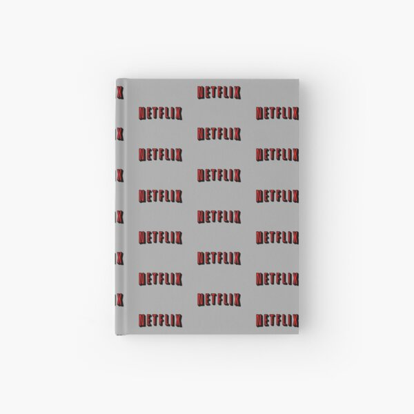 Netflix RED Hardcover Journal