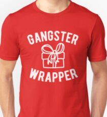 Gangster Wrapper Funny Christmas T-Shirt