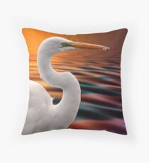 One More Look Throw Pillow
