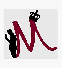 M is for Moriarty Photographic Print