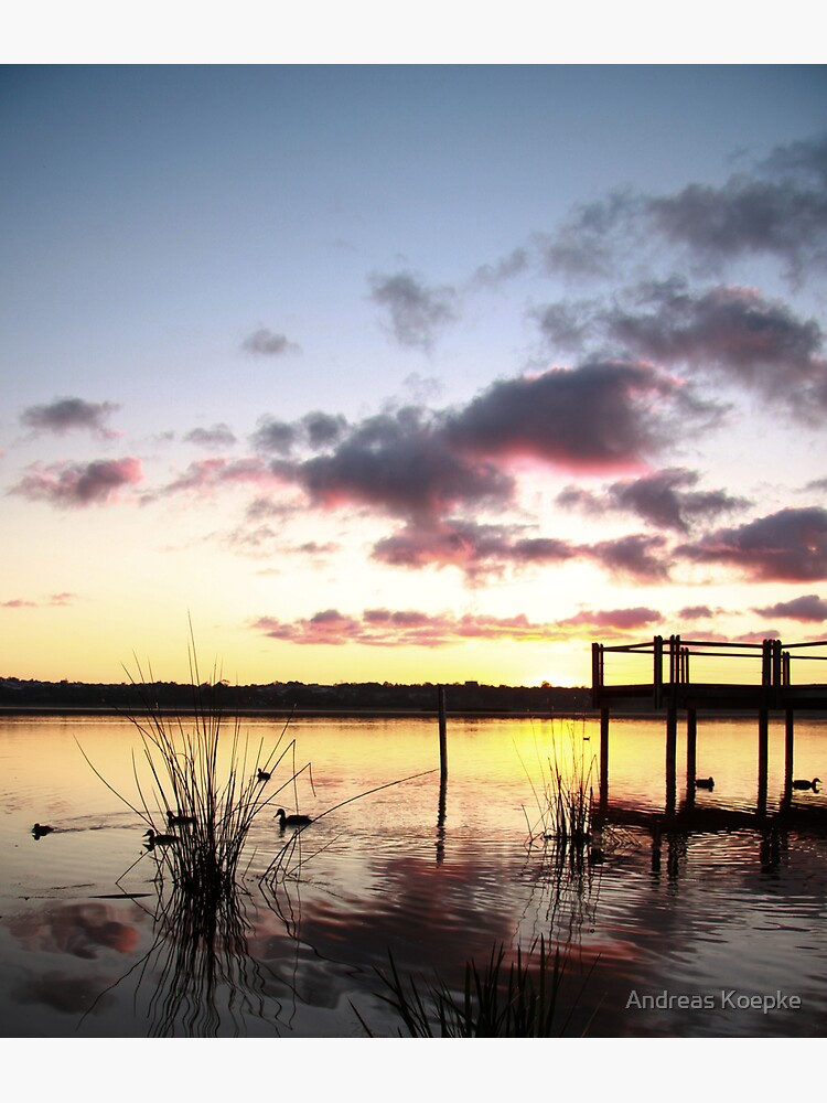 Sunrise over Lake Joondalup by mistered