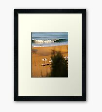 sport and action Framed Print
