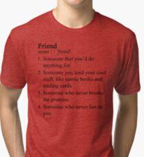 Stranger Things Friend Tri-blend T-Shirt