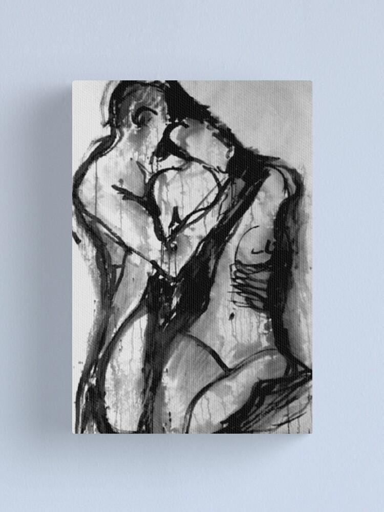 Alternate view of Love Me Tender  Canvas Print